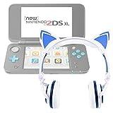 Duragadget Casque Audio Blanc Lumineux pour Console de Jeux Nintendo 2DS XL -...