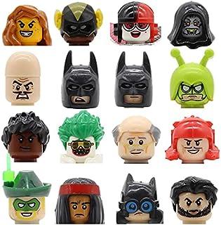 Feleph Single Comics Figure Head PG8810 PG8111 Crazy Quilt Cacique Killer Moth Ulysses Klaw Building Blocks Kits Toys
