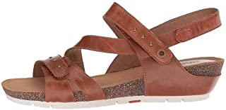 Josef Seibel Womens Hailey33 Leather Open Toe Casual Platform ، Camel ، مقاس 6. 0