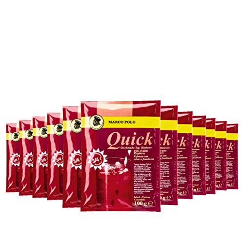 Tiffany Quick Instant Pulver Himbeere, 100g, 12er Pack
