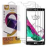 Guran 4 Paquete Cristal Templado Protector de Pantalla para LG G4 Smartphone 9H Dureza Anti-Ara?azos Alta Definicion Transparente Película
