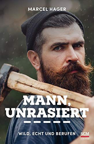 Mann, unrasiert: Wild, echt und berufen