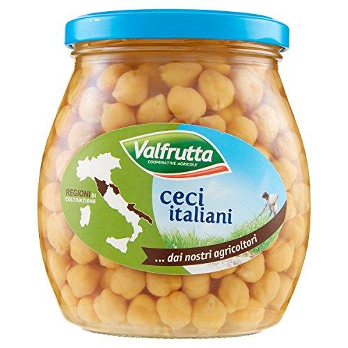 Valfrutta Ceci Italiani, senza Glutine - 570 g
