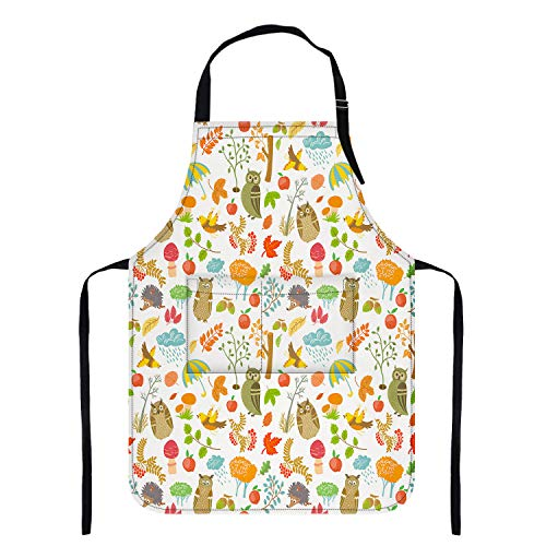 Waterproof Apron with Pockets