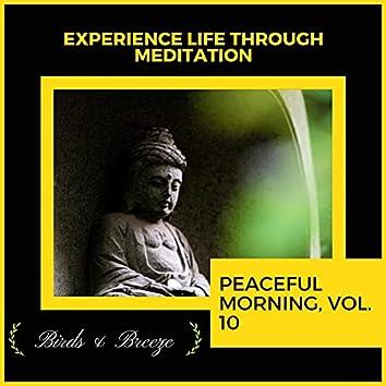 Experience Life Through Meditation - Peaceful Morning, Vol. 10