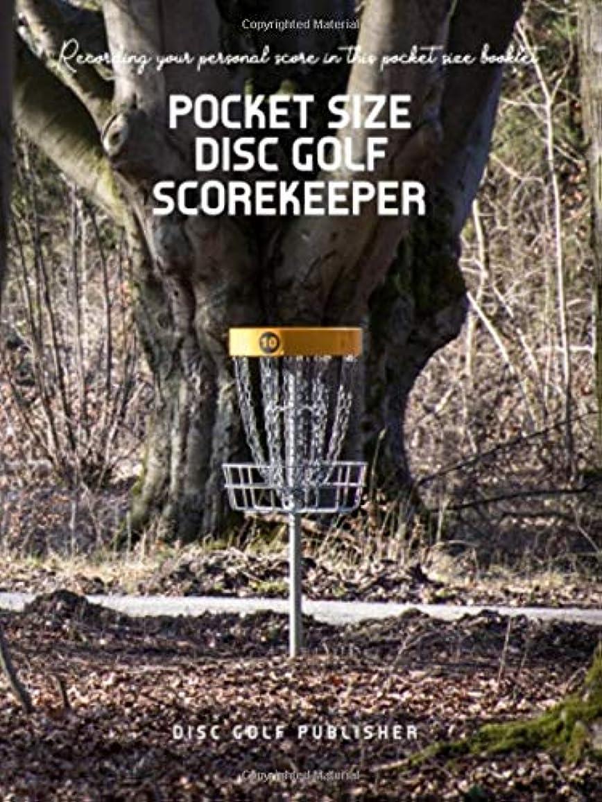 最も農業の気候Pocket Size Disc Golf Scorekeeper: Recording your personal score in this pocket size  booklet