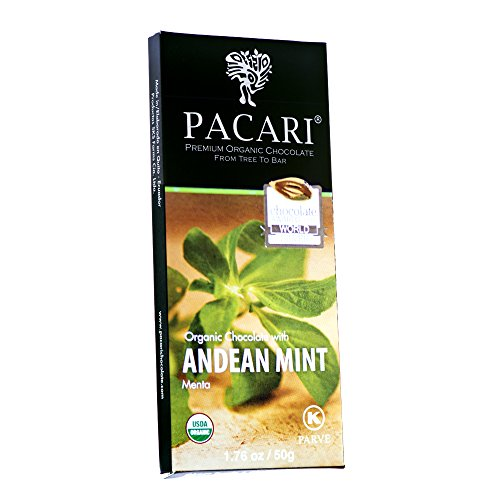 Chocolate Orgánico Pacari Menta 50g