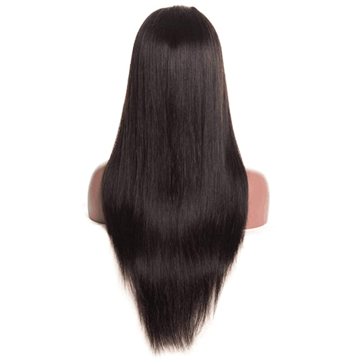 YuYe Lace Front Women Artificial Fiber Natural Looking Straight Long Full Hair Wigs