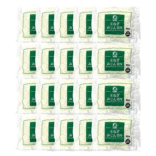 【まとめ買い】冷凍野菜 玉ねぎみじん切り 神栄 500g x20