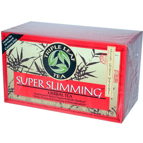 Super Slimming Tea By Triple Leaf Tea - 20 Bags