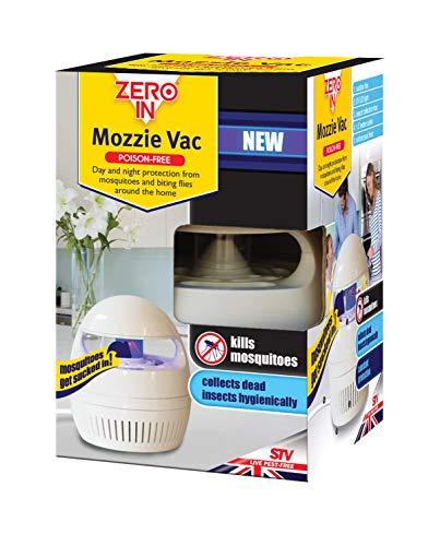 Zero In 12 x 12 x 18.1 cm Antipiqûres Vac (Produits Chimiques et sans Odeur, DE Jour et de Nuit d'insectes pour la Maison, Protection Contre Les Insectes tels Que Les moustiques et Mouches)