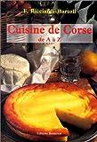 Cuisine de Corse de A à Z