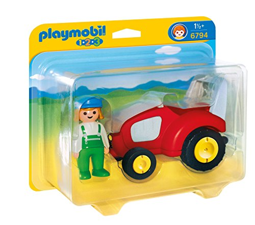 PLAYMOBIL 1.2.3 - Playset Tractor 6794