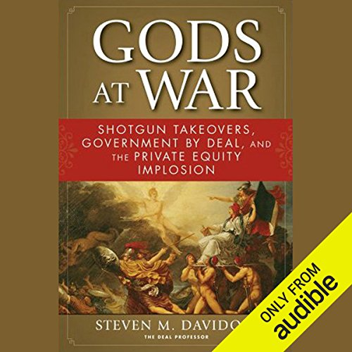 Gods at War audiobook cover art