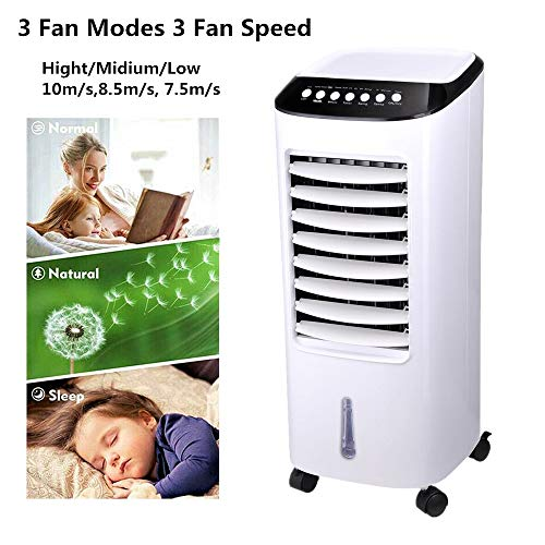 Big Times 65W 7L 2020 Best Portable Air Conditioner Save- Energy Evaporative Air Cooler Humidifier for Bedroom,Living Room,RV,Tent