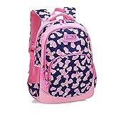 Yeldou Lightweight Waterproof Canvas Versatile Backpack/School Bag (6-13 Years)