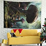 Wandlovers Fantasy - Tapiz de pared (150 x 150 cm), diseño de...