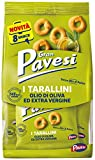 Gran Pavesi Snack Tarallini Olio di Oliva ed Extra Vergine, Senza Olio di Palma - 8 Pacchetti (256 g)