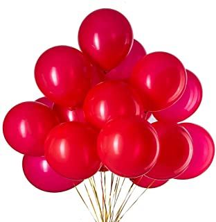 GAKA 12 Inch Red Balloons Helium Light Red Latex Balloons for Birthday Party Decorations Supplies Pack of 35,Thick 3.2g/pc...
