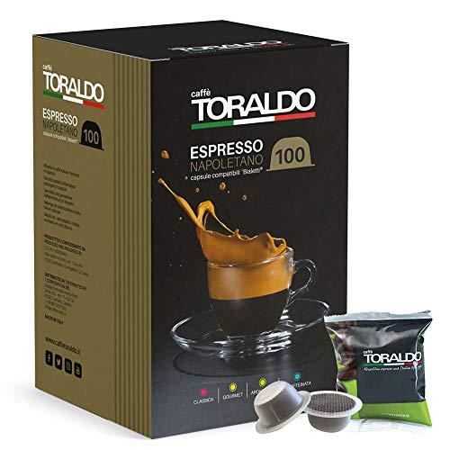 Caffè Toraldo Capsule compatibili Bialetti Miscela Aromatica 100 pz / 720 g