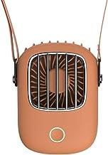 Handheld Ventilator, USB-ventilator, handventilator, hangende nekventilator mini draagbare draagbare sporten oplaadbare lu...