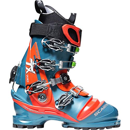 SCARPA TX Pro Boot - Men's Lyons Blue/Red Orange 29