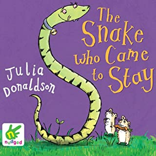 The Snake Who Came to Stay audiobook cover art
