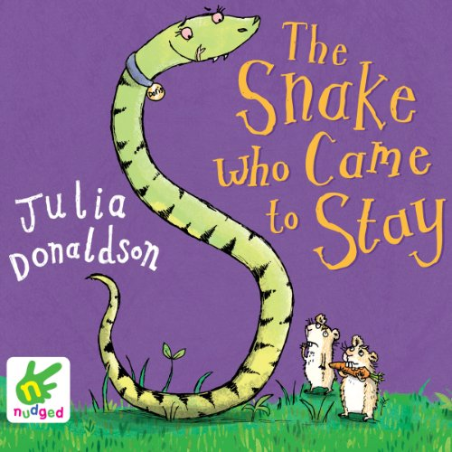 The Snake Who Came to Stay cover art