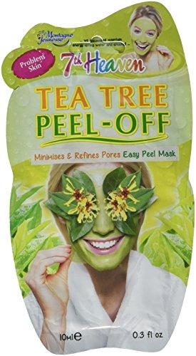 Montagne Jeunesse Tea Tree Peel-Off Face Mask - Mascarilla Facial Arbol de Te Peel-Off, 10 ml, Verde