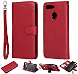 nancencen Compatible avec Huawei Y6 2018 / Honor 7A Housse, Cuir PU Portefeuille Coque TPU 2 in 1...