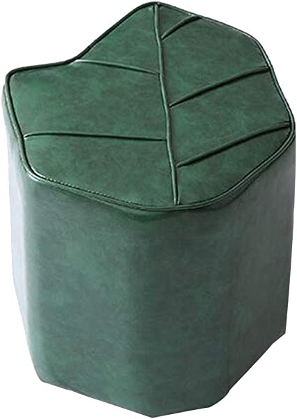 OUG Creative Stool Personality Stool Strong And Durable Wear Resistant Strong Load Bearing Oil Wax Xipi Environmentally Friendly Suitable For Everyone Suitable For Bedroom Color Choice 36x38cm