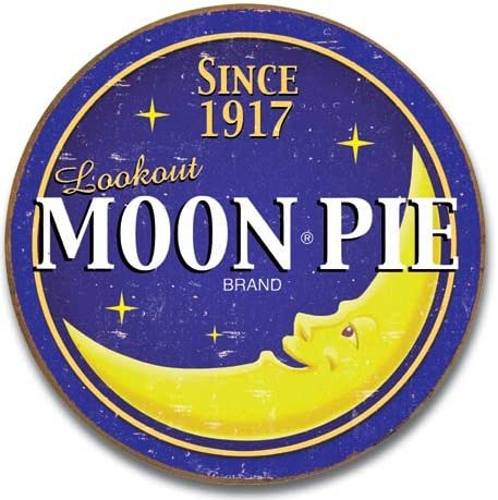 The Finest Website Inc. New New Orleans Mall Moon Round 11.75 Sign Oakland Mall Pie inches in
