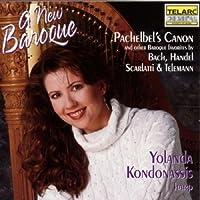 A New Baroque (Baroque favorites transcribed for harp) (1994-11-08)