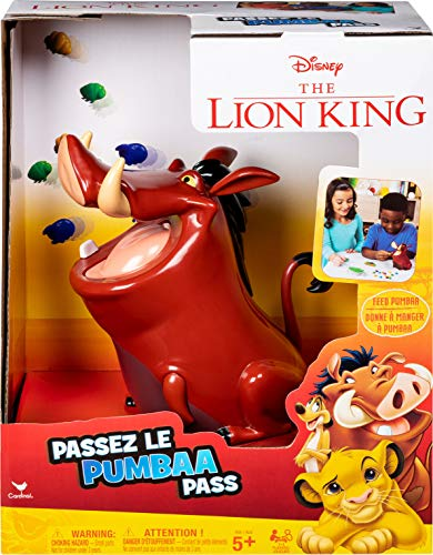 Disney Lion King Pumbaa Pass Game for Families Teens and Adults