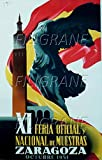 PostersAndCo Zaragoza Feria 1951 Poster / Kunstdruck, 60 x