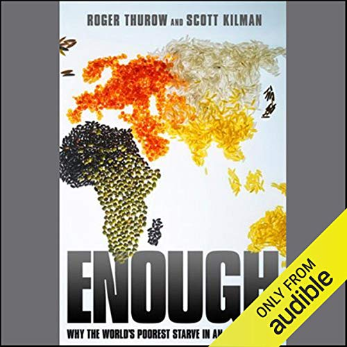 Enough audiobook cover art