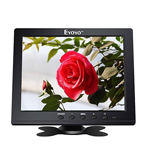"""Eyoyo S801H HD 8"""" TFT LCD Monitor 1024X768 VGA BNC Video Audio HDMI Input For PC/CCTV/Camera"""