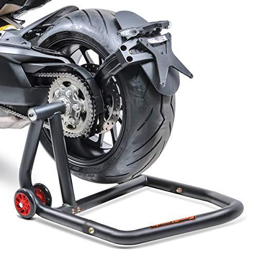 ConStands - Motorrad Montageständer Ducati 1199 Panigale 12-14 Schwarz Hinterrad Einarmständer Single One