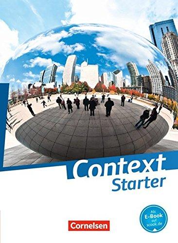 Context Starter Schülerbuch (kartoniert) (Context Starter / Allgemeine Ausgabe 2014)