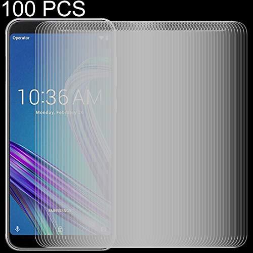Zhouzl Pellicola in Vetro temperato per Telefono Cellular Pellicola in Vetro temprato da 100 PC 0.26mm 9H 2.5D for ASUS ZenFone Max PRO (M1) ZB601KL Film di Vetro temperato