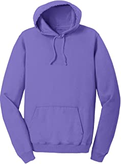 Joe's USA Pigment-Dyed Hoodies - Pullover Hooded Sweatshirts in Sizes S-4XL