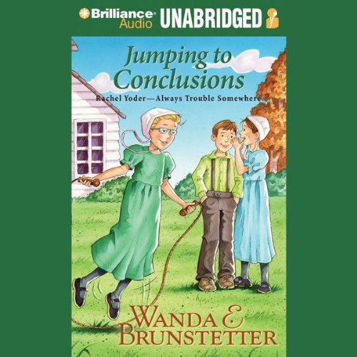 Jumping to Conclusions audiobook cover art