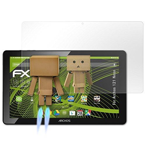 atFolix Displayfolie kompatibel mit Archos 121 Neon Spiegelfolie, Spiegeleffekt FX Schutzfolie