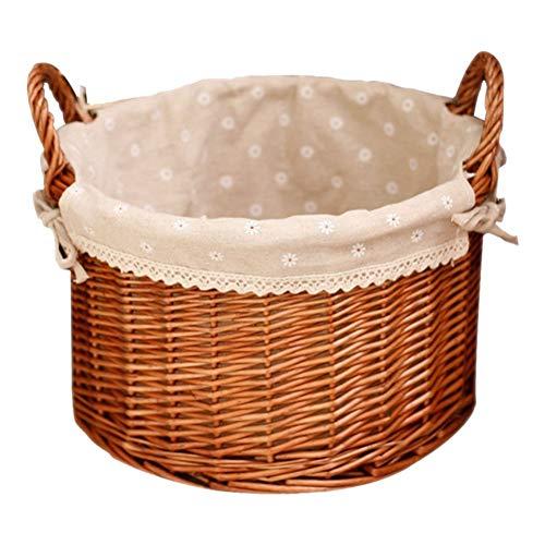 CSYCQ Boda Hogar Cocina Cesta De Picnic Pan De Picnic Artículos Diversos Almacenamiento De Frutas Cesta De Almacenamiento