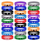 TUPARKA 32 Pcs Gaming Party Supplies Pulsera de Silicona,Tema de Videojuegos Birthday Party Supplies Favores para Adultos y Niños