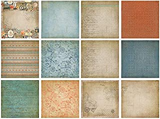 Paper Wishes – 12 Double-Sided Paper Pack Collection   Unique Papers for Scrapbooking, Cardmaking, Gifts and All of Your D...