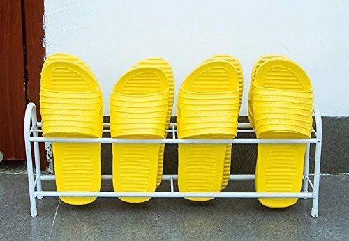 Porte-chaussures pour meubles d'entrée Pantoufles creuses crépi un tiroir simple de salle de dortoir Porte-grille de rangement Cabinet de meuble-WXP (Couleur : #2)