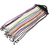 NUOLUX - Cordón para gafas, 12 unidades, color aleatorio