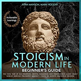 Stoicism in Modern Life: Beginner's Guide audiobook cover art