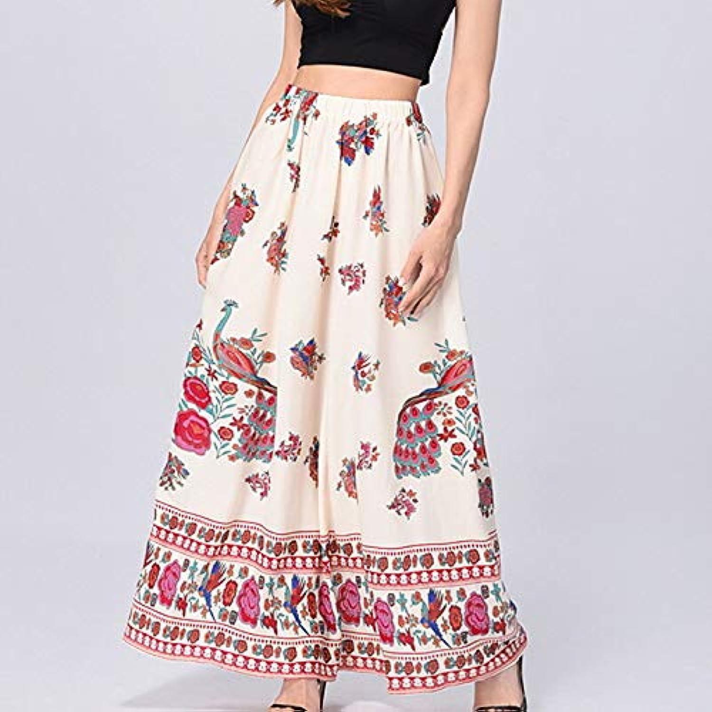 Women's Basic Swing Skirts  Floral